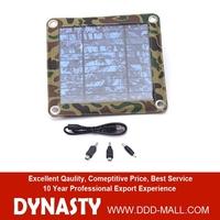 5V 3W solar panel power bank for mobile Camouflage packaging solar panel