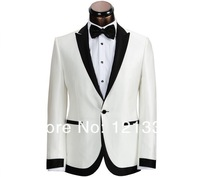 Free shipping high quality wool suit Custom made Men(Jacket + pants ) Groom dress  XZ0338