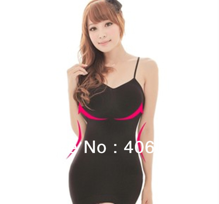 2013 New Slimming Control Shaper Women's Body Slimming Camisole Body Underwear Firm Vest Control Vest Shape Top Wear Waspie(China (Mainland))