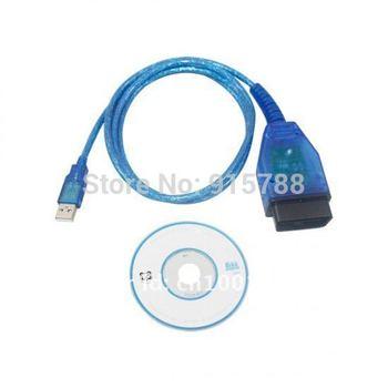 FTDI chip  VAG409.1 V-COM KKL 409.1 OBD2 USB CABLE SCAN TOOL FOR TRIUMPH KTM MOTORCYCLE TuneECU