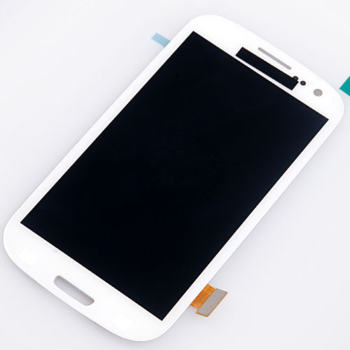 100% Original LCD Assembly+Touch Screen Digtizer Colors For Samsung I9300 Galaxy S3 i535 T999 i747 i9308 White(China (Mainland))