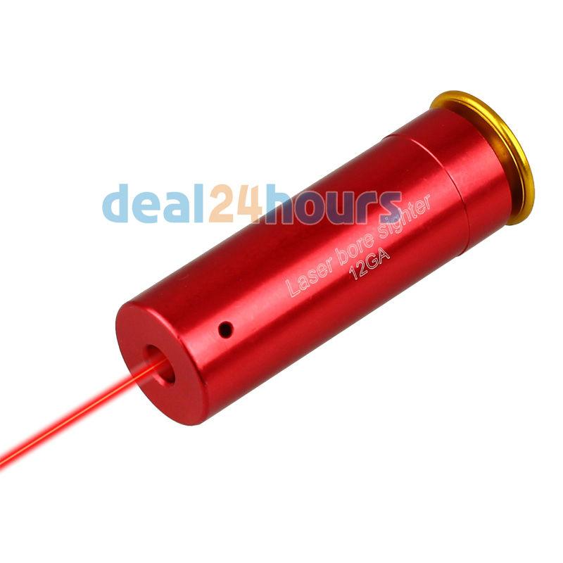 12 GAUGE 12 GA Cartridge Laser Bore Sighter Boresighter Red Sighting Sight Boresight Red Copper 12GA Shotgun FREE Shipping(China (Mainland))