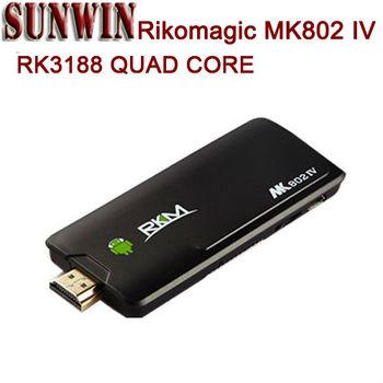Rikomagic MK802IV RK3188 Quad Core 2GB RAM Android 4.2 bluetooth raspberry pi mini pc MK802 IV