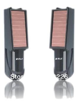 Wireless two beam active infrared solar beam sensor