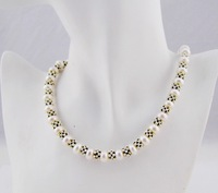 Exotic Fashion Necklace Natural Pearing Luxry Best for Party Attractive