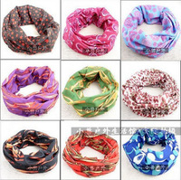 10PCS/Lot Multifunction biker Seamless Style Mens Womens Bandana fishing Headwear Scarf Wrap free drop shipping (No.21----No.40)