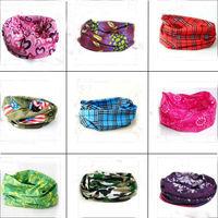 10PCS/Lot Multifunction biker Seamless Style Mens Womens Bandana fishing Headwear Scarf Wrap free drop shipping(No.101---No.118)