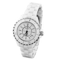 Ladies watch ceramic white ladies watch women's watch fashion lovers watch rhinestone hot