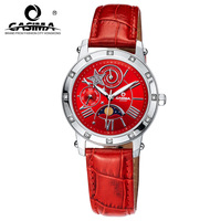 Casima female watch rhinestone vintage lady waterproof women's fashion watch