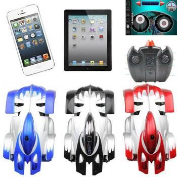 Upgrade Wifi Remote Control R/C Mini Racing Climb Car RC By iPhone iPad iPod Blue/Black/Red Free shipping& drop shipping