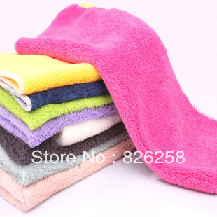 Free shipping Cloth non-stick oil Concave convex wood fiber oil wash towel dishclout multifunctional ultra soft hand towel G019(China (Mainland))