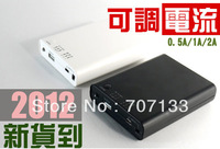 2PCS/LOT  1-4 section big capacity of 18650 battery mobile power supply box charging
