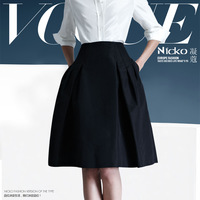 Free Shipping 2013 Spring And Summer Women's Fashion OL Work Wear High Waist Skirt Bust Skirt Tailored XQW059