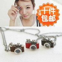 1468 accessories vintage camera necklace