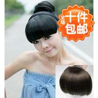 1740 wifing false fringe bangs invisible oblique bangs hair bands qi bangs
