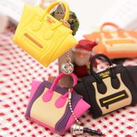 7063 cute bags style mobile phone general dustproof plug earphones hole tampion