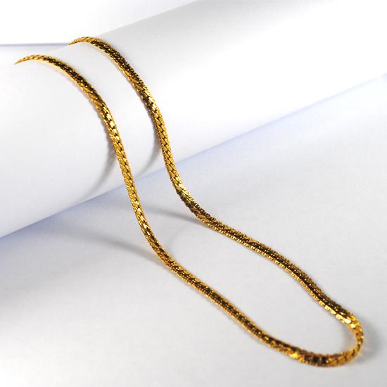 999 Fine Gold Necklace 24k