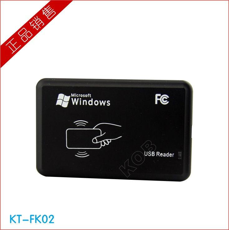 New Black USB 125Khz RFID ID  Rfid reader Proximity Sensor Smart Card Reader Free shipping