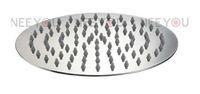 2013 NEW Bathroom Stainless Steel  Brushed 10 inch Round Rainfall Shower head Ultrathin  Rain Shower 31020B