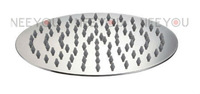 2013 NEW Bathroom Stainless Steel  Brushed 10 inch Round Rainfall Shower head Ultrathin  Rain Shower 31020B