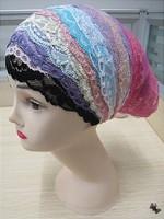 Free Shipping,2013 NEW lace muslim hijab underscarf,islamic underscarf,inner muslim cap,Islamic scarf