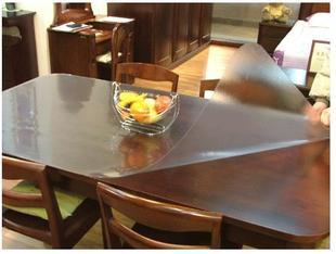 Online kopen wholesale transparant tafel mat uit china transparant tafel mat groothandel - Transparante plastic tafel ...