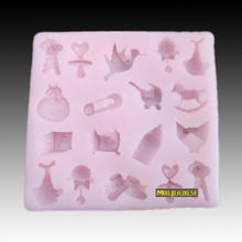 Grátis frete 3D Mini resina flor de silicone moldes fondant sabonete artesanal, sabão DIY / Fimo / bolo / Chocolate mold, decoração do bolo(China (Mainland))