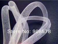White Horsehair ( Crinoline ) Tube Crinoline for Hair Accessories ( 16mm Width ) 90yards