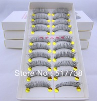 Free Shipping Thick False Eyelashes Mink Eyelash Eye Lashes Makeup #A17 Natural Long High Quality