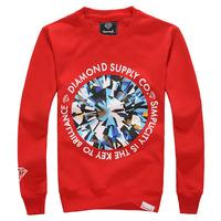 Sports Autumn and winter Hip hop sweatshirt Diamond supply co men Diamonds O-neck Outerwear Casual Fashion Brand sweatshirt