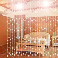 Bead curtain crystal bead curtain for partition entranceway glass bead curtains fashion door curtain