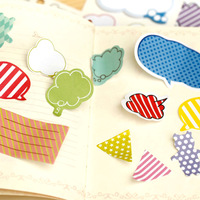 Ann korea stationery the clouds style fresh n times stickers sticky memo pad