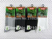 deodorant Sweat-Absorbent Breathable Bamboo charcoal Bamboo fiber sox men's socks,4colors mixed 12pairs/lot