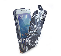 Your Favorites BUTTERFLY STYLE LEATHER FLIP POUCH CASE COVER FOR SAMSUNG GALAXY S4 I9500 10PCS/LOT FREE SHIPPING