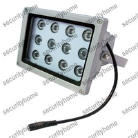 Outdoor Infrared Illuminator 12pcs Array Led IR Illuminator 850nm IR Light infrared lamp for CCTV Camera 100M
