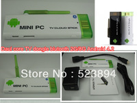 CX-803 II Android TV Stick With Bluetooth 2GB RAM 8GB ROM RK3066 Dual Core Android 4.2 TV BOX WIFI Antenna