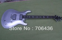 Special offer wholesale new metal silver P RS electric guitar can be customized color gift guitar bag  accessories