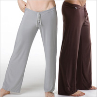 Male fun yoga trousers drawstring lingerie panties adult supplies stockings sleepwear