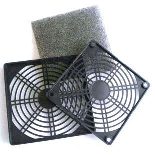 2pcs/lot Computer case fan dust cover 12cm three-in dustproof sponge filter mesh 12 computer fan colander(China (Mainland))