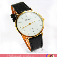 Simple watch leather watchband men watches free shipping Yooli wholesale  WM001