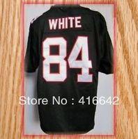 Atlanta 84 Roddy White Black Game Football Jerseys 2013 New Free Shipping