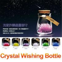 Free shipping Crystal Wishing Bottle,Meteor Wishing Bottle,willing Crystal Bottle