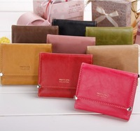 2013 cute little purse women's short design wallet women's wallet love coin purse