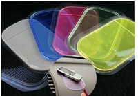 Free Shipping/Wholesale 360 Degrees Multicolor Small size with Package Spider Mat Super Viscous PVC Car Mat
