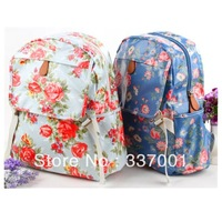 2013 new cath Garden Floral casual shoulder bag backpack bag computer bag waterproof
