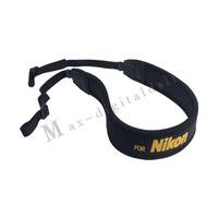 Free Shipping Skid Proof Elastic Neoprene Shoulder Neck Belt Strap for DSLR Camera Nikon D4 D60 D90 D600 D3100 D3200 D5000 D5100