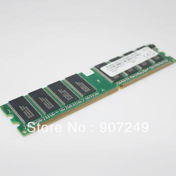 Elpida 1GB PC3200 CL3 DDR 400 UDIMM 184-Pin D5108AFTA-5B-E Desktop