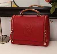 Fashion vintage handbag fashion one shoulder cross-body women's handbag 2012 autumn bag