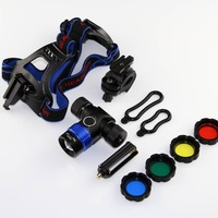 Brand New 2000 Lm CREE XM-L T6 LED Bicycle Bike HeadLight/ headLamp Adjustable Focus