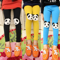 Child clothing female baby spring 2013 100% cotton legging skinny pants trousers z